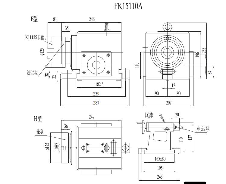 cnc milling machine parts